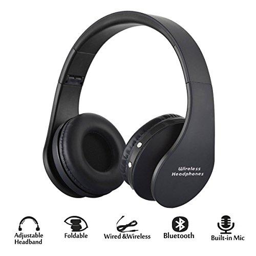 [해외]Hyfanda Foldable 블루투스 헤드폰/Hyfanda Foldable Bluetooth Headphones