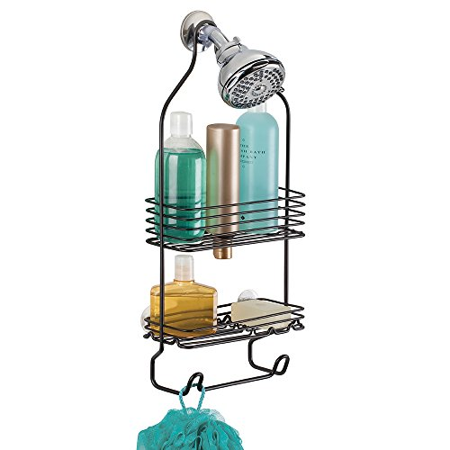 mDesign Bathroom Shower Shampoo Conditioners