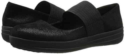 Glimmer Black para Merceditas Sporty Fitflop Black F Jane Mujer Glimmer Mary vw44aq86