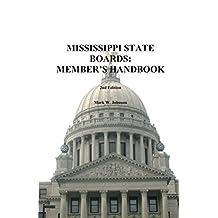 Mississippi State Boards Handbook 2d Edition