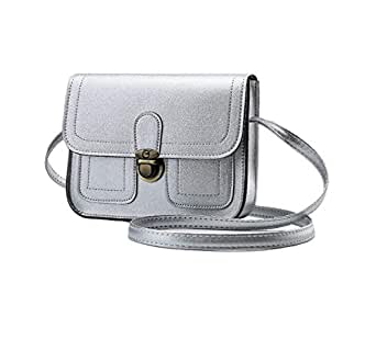 Bag For Women,Silver - Crossbody Bags