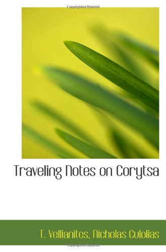 Download Traveling Notes on Corytsa ebook