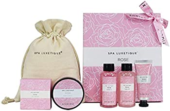 6-Pieces Spa Luxetique Valentine's Day Spa Gift Set
