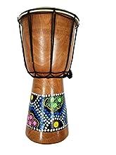 "Djembe Drum- African Percussion Drum, Bongo Hand Drum Professional Sound (6"")"