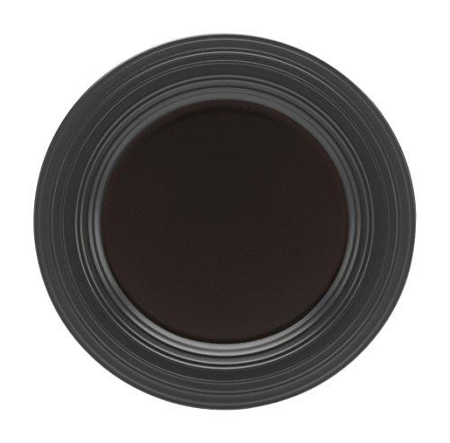 Mikasa Swirl Black Dinner Plate, 11.25-Inch