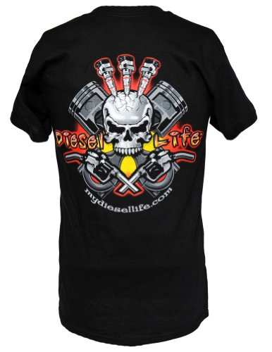 Diesel Life Injector Skull T Shirt product image