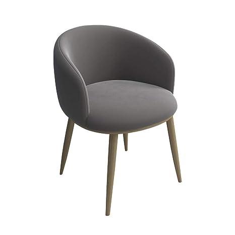 Amazon.com: Bseack_Store Silla de metal, cómoda tela de ...