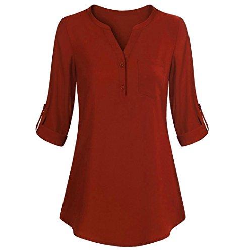 [S-XL] レディース Tシャツ 無地 Vネック カジュアル 長袖 トップ おしゃれ ゆったり 人気 高品質 快適 薄手 ホット製品 通勤 通学