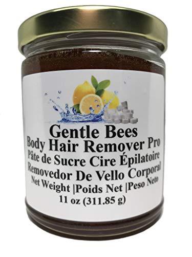Gentle Bees Body Hair Remover Pro - Sugar Wax Kit 11 Ounces (311.85g) Brazilian Wax and Bikini Wax