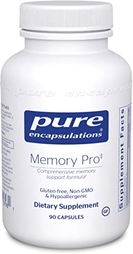 Support Broad Spectrum - Pure Encapsulations - Memory Pro - Dietary Supplement with Broad-Spectrum Memory Support Formula* - 90 Capsules