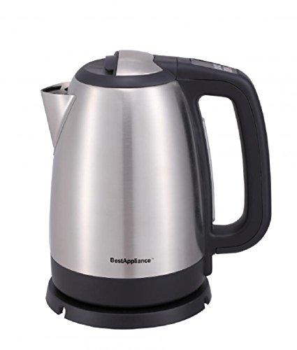 Hydraulic Water Mattress - Electric Tea Kettle 1.7 Liter Cordless Hot Boil Water Coffee Stainless Steel K5