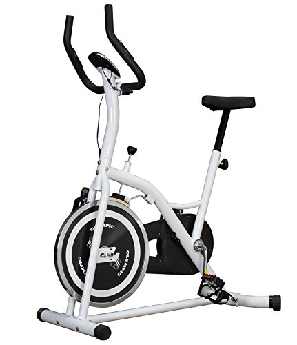 Olympic Indoor Cycling Bike - White