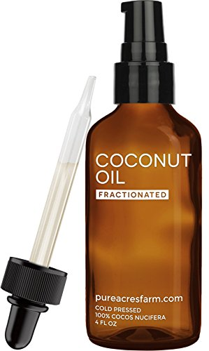 Fractionated-Coconut-Oil-Liquid-4-oz-Best-Grade-100-Pure-All-Natural-Dropper-Pump-Carrier-for-Essential-Oils