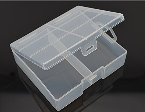 Large Battery Hard Case Holder Box Storage Battery Protection 24PCS AA Battery Box