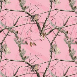 (Realtree Pink Camouflage 12x12 Scrapbook Paper - 4 Sheets)