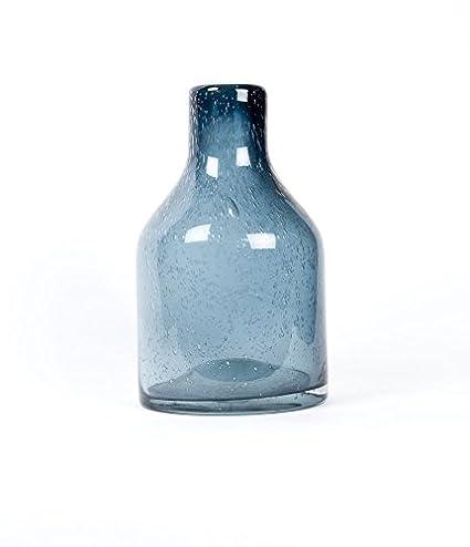 Amazon Home Decor Glass Vase Hand Blown Glass Art Dark
