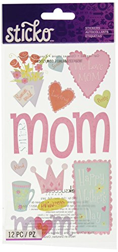 Sticko Happy Mother's Day (Happy Mothers Day Stickers)