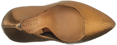 col Donna Women Shoes Scarpe Marrone Bronze Tacco Schutz p1xtwx