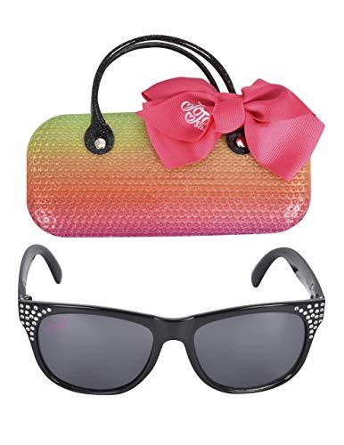 JoJo Siwa Kids Sunglasses with Matching Glasses Case and UV ()