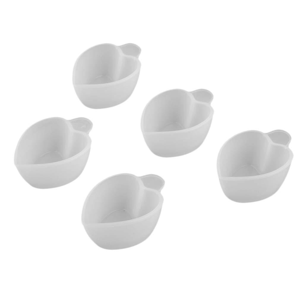 Baoblaze 7 Piezas Juego de Vasos Medidores de Resina Taza de Mezcla de Pigmentos