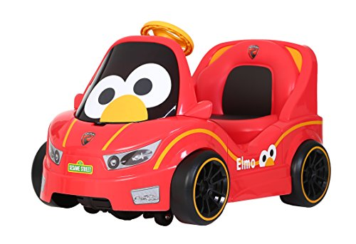 Rollplay 6 Volt Elmo EZSteer Cruiser Ride On Toy, Battery-Powered Kid's Ride On Car