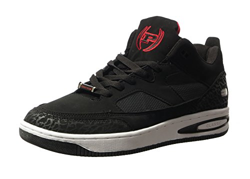 Sneakers Alta Moda Uomo Phat Farm Morris Nero Rosso