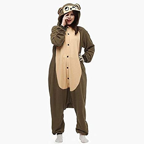 63b29a0f31 KRAZY TOYS Pijama Animal Entero Unisex para Adultos como Ropa de Dormir- Traje de Disfraz