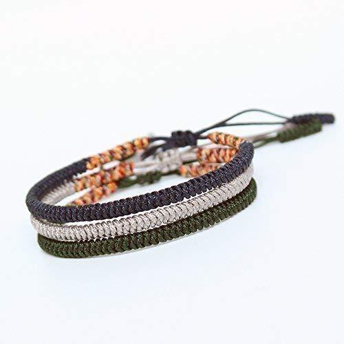 TALE Lucky Rope Bracelet Tibetan Buddhist Handmade Knots - Health