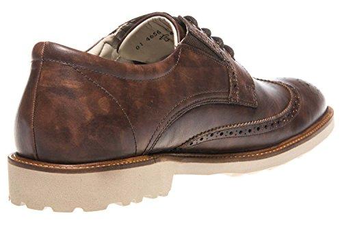 Manz Chaussures de Ville à Lacets pour Homme Marron Marron UZTPXoPn