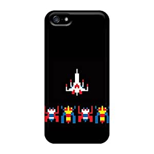 New Tpu Hard Case Premium Iphone 5/5s Skin Case Cover(spaceships)