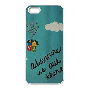 JIAJIA Adventure is Out There Cell Phone Case for Iphone 5s