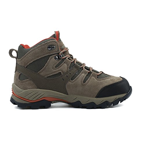 HIFEOS Hiking Boots for Mens Womens Unisex Suede Leather Outdoor Waterproof Backpacking Shoes Mens Khaki-2 outlet get to buy clearance store cheap online xWNe9