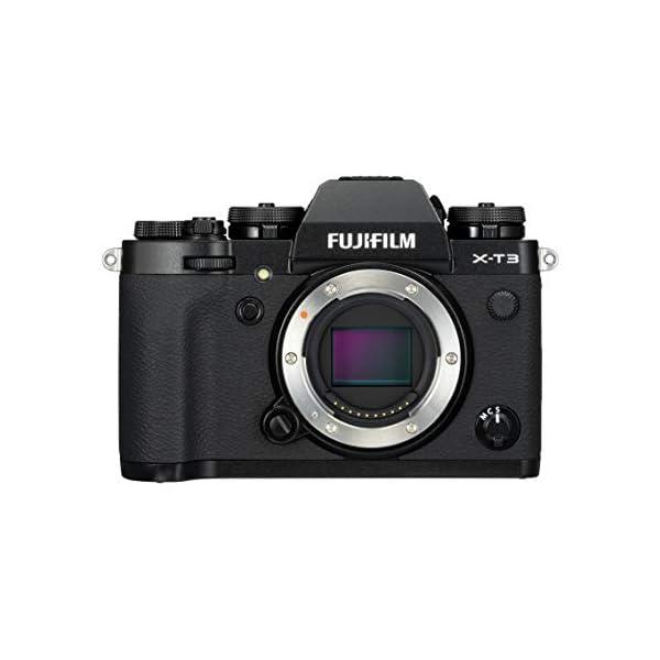 RetinaPix Fujifilm X-T3 Mirrorless Digital Camera (Body Only, Black) with 16 GB Memory Card and Case (Black)
