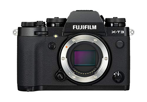 Fujifilm X-T3 – Cámara de objetivo intercambiable sin espejo, con sensor APS-C de 26,1 Mpx, video 4K/60p DCI, pantalla…