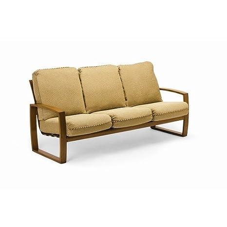 Amazon.com: Clermont sofá con cojines, tela acabado: arena ...