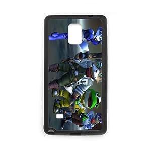 Samsung Galaxy Note 4 Cell Phone Case Black star fox zero OJ578055