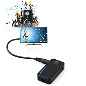 XIDAJE 3.5mm Stereo Bluetooth Music Car FM Transmitter MP3 Adapter
