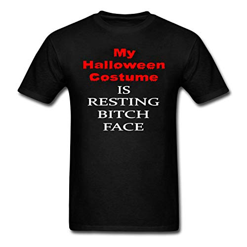 Bbhappiness Mens My Halloween Costume is Resting Bitch