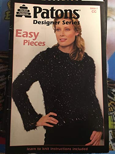 Patons Designer series easy pieces learn to knit instructions included