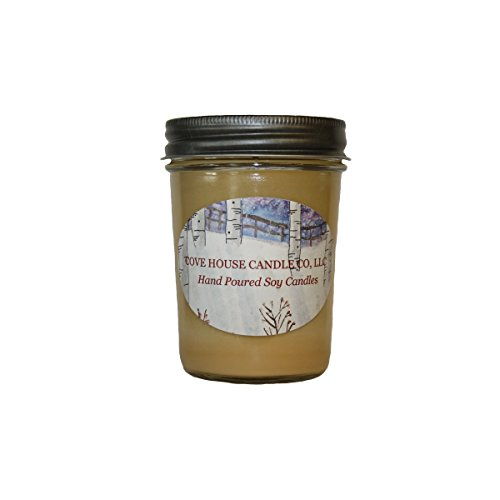 Vanilla Bean 8oz Soy Jelly Jar Candle