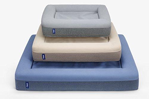 Casper DOGBD-MB-BU-US-JEF Memory Foam Pet Bed, Medium, Blue 4