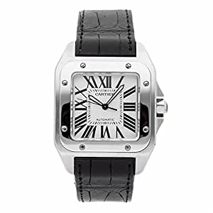 Cartier Santos 100 automatic-self-wind male Watch W20073X8 (Certified Pre-owned)