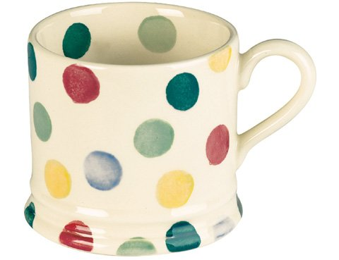Emma Bridgewater Pottery Polka Dot Baby Mug