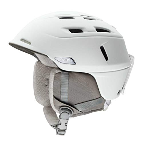 Smith Optics Compass Adult Ski Snowmobile Helmet - Pearl White/Medium ()