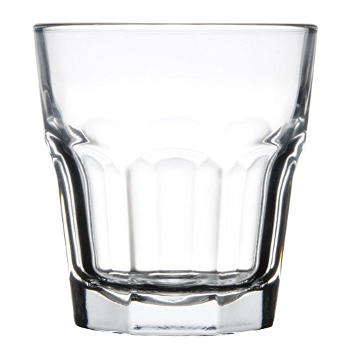 Libbey 15243 Gibraltar DuraTuff 12 oz Double Rocks Glass , SET OF 6 w/ FDL Party -
