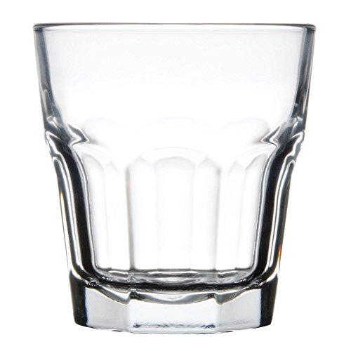Libbey 15243 Gibraltar DuraTuff 12 oz Double Rocks Glass , SET OF 6 w/ FDL Party Picks ()