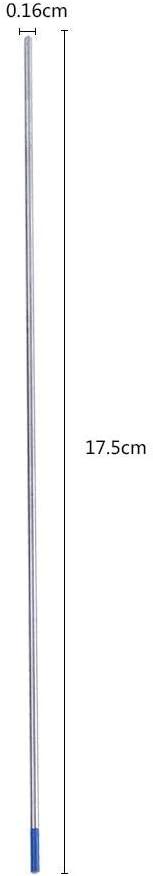 /Électrodes de tungst/ène de soudure TIG Premium /Électrodes lanthanated poste /à souder /à pointe Bleu Accessoires 1.0//1.6//2.4/mm 10pz