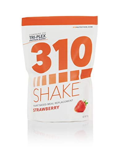 310 Shake Strawberry (28 SRV) - Healthy Meal Replacement Shake with eBook!