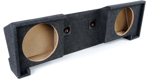 "Bbox A102-10CP Dual 10"" Sealed Carpeted Subwoofer Enclosure - Fits 1988-1998 Chevrolet/GMC Full Size Pickup Extended Cab"