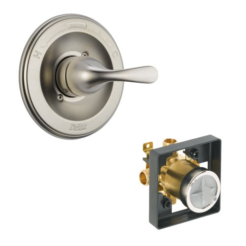 Pressure Shower Balance Classic (Delta Delta KVODCL-T13020-SS Classic Valve Only Kit Pressure-Balance Single-Function Cartridge, Brilliance Stainless Brilliance Stainless)